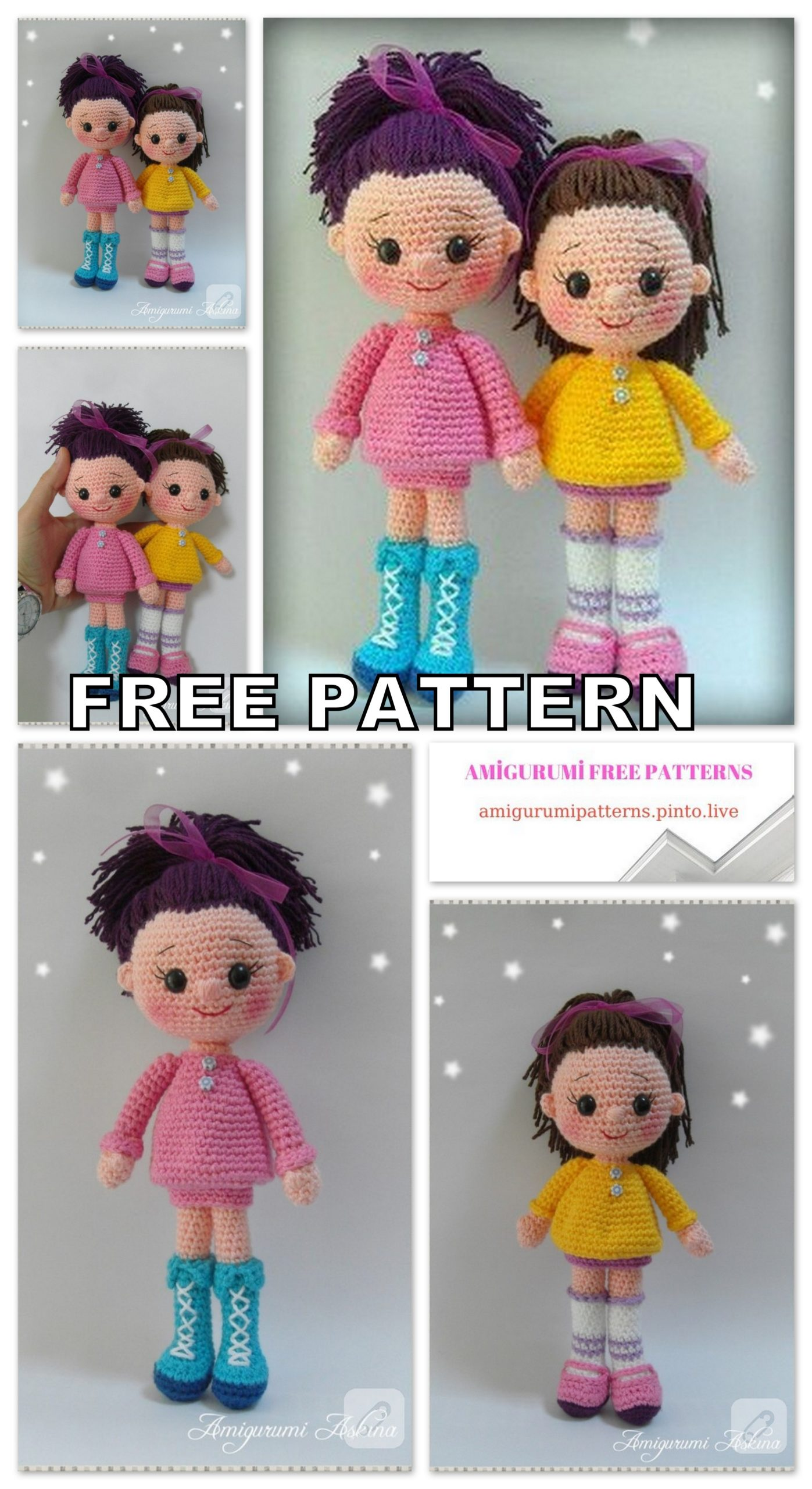 Amigurumi Free Pattern Lawyer Doll... - Tiny Mini Design | Facebook | 2560x1397