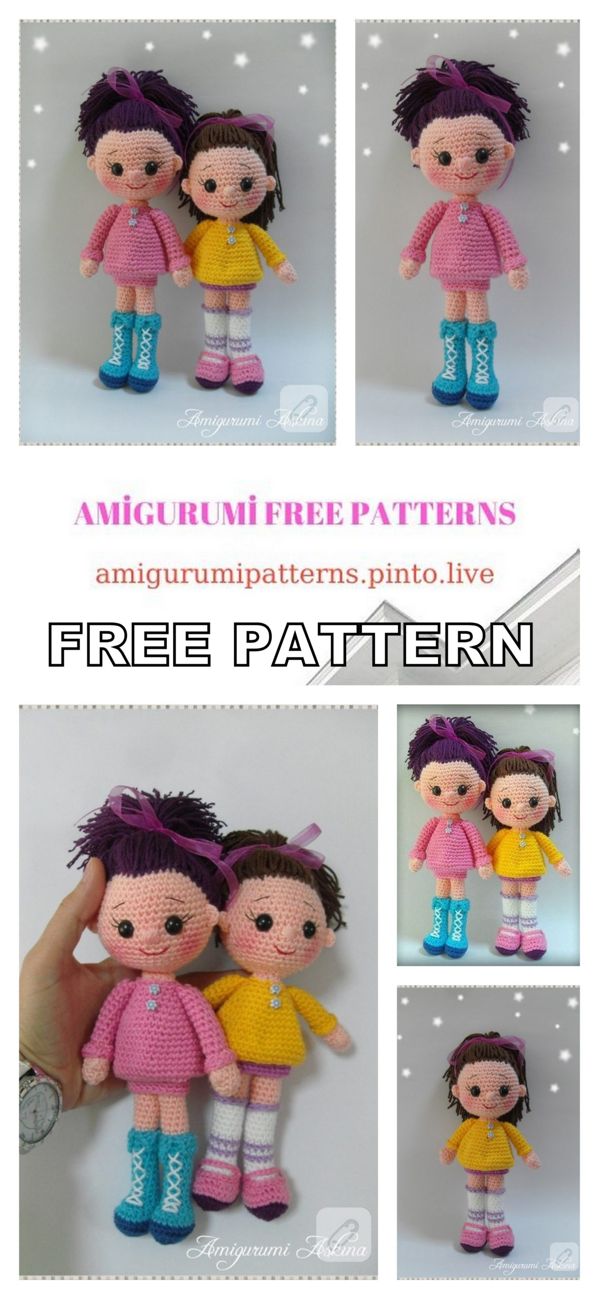 Free Pattern_Inspired by Amigurumi Askina- Angelina Ballerina ... | 2560x1182